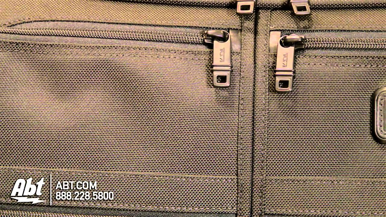 96b25b0c27 Tumi Alpha 2 Wheeled Carry-On Garment Bag - 022037D2 Overview - YouTube