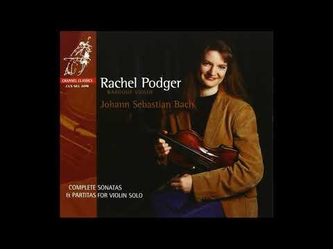 Rachel Podger ~ BACH: Violin Sonata No. 3 In C Dur, BWV 1005