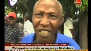 Mgomo wa Wafanyakazi Kiwanda cha Nguo cha Urafiki