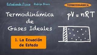 Termodinámica de gases ideales 1 - Ecuación de estado
