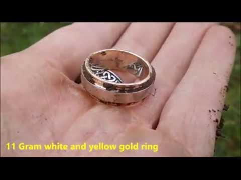 Metal Detecting - Gold ring worth 10 000,-  !!!