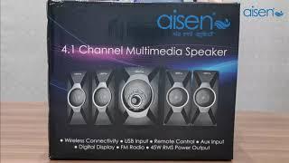Aisen A45UFB403 Multimedia 4.1 channel Speaker