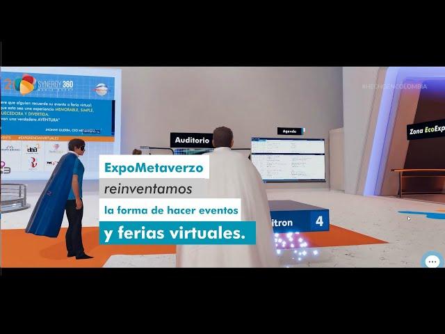 METAVERZO - EL FUTURO DE LOS EVENTOS Y FERIAS VIRTUALES