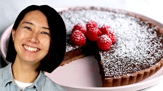 How to Make the Silkiest Chocolate Tart with Rie