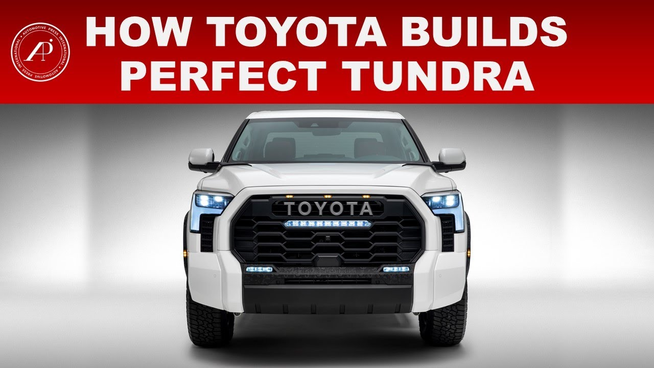 HOW TOYOTA BUILDS PERFECT 2022 TOYOTA TUNDRA - Engineer Explains Why Tundra is Perfect from Factory