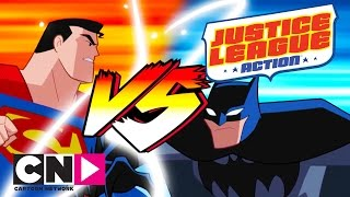 Justice League Action | Batman V Superman | Cartoon Network