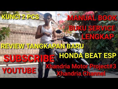 Xhandria Motor Project#3 Review HONDA Beat ESP 2016 warna hitam kondisi SUPER  !!!Simak video nya...