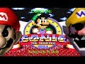 CAN LUIGI SURVIVE IN A DIFFERENT WORLD?!?! | Luigi In: One Night at Sonic.exe