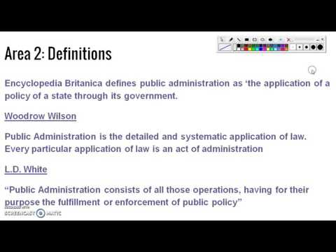Chapter 1: An Introduction to Public Administration-1