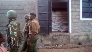 Police in Kiambu recover 400 bags of stolen coffee