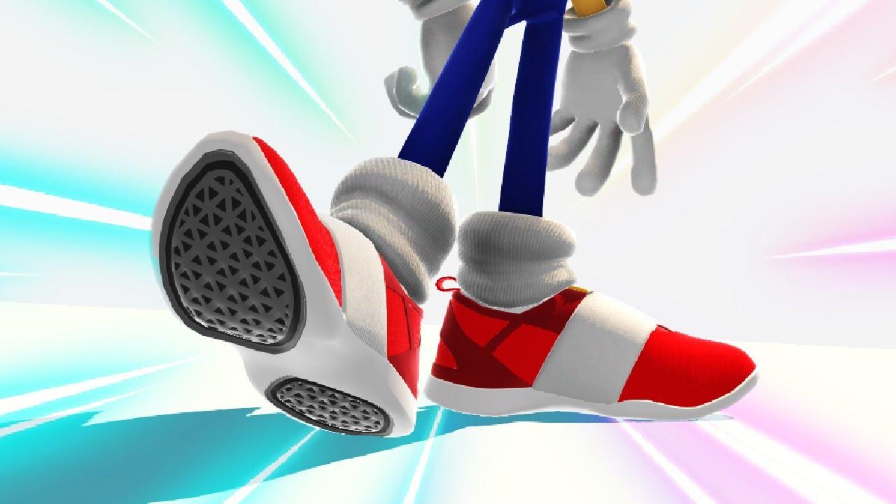 Sonic Generations: Sonic wear his Puma