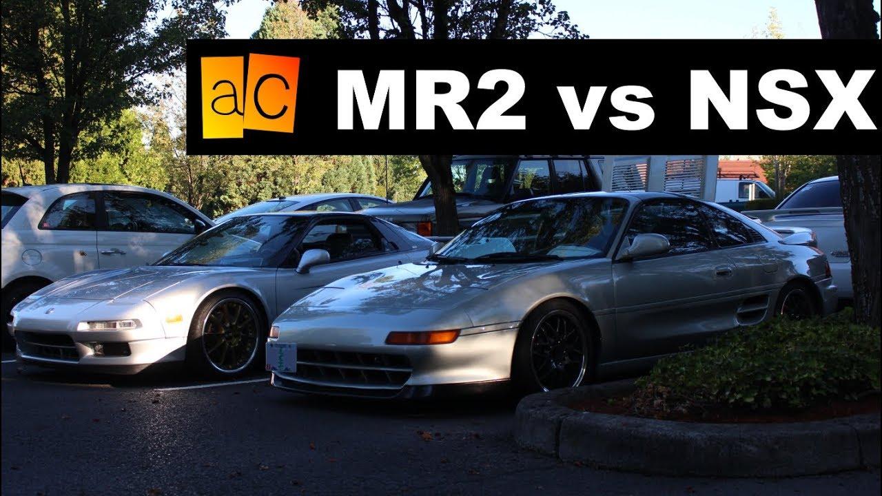 Let's Compare: MR2 vs NSX - JDM 2018-03-10 09:40
