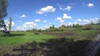 Тест РМ 800 UTV на грязевой трассе