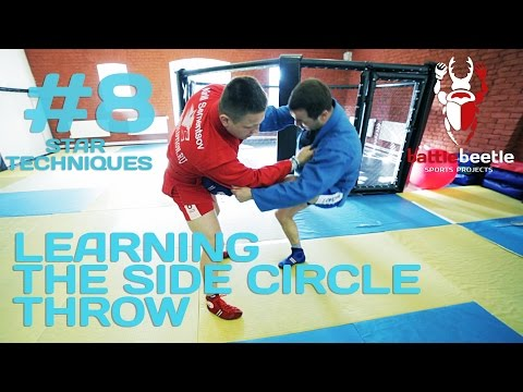 LEARNING THE SIDE CIRCLE THROW WITH EUROPEAN CHAMP - STAR TECHNIQUES # 8