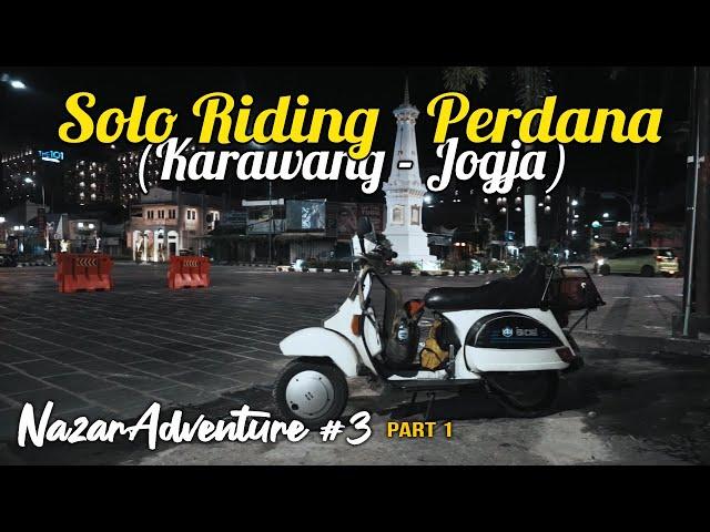 Naik Vespa Solo Riding Karawang - Jogja