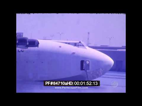 Spruce Goose - Color HK-1 Hercules Moved in Long Beach Harbor 84710a HD