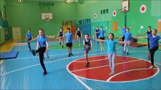 5В класс   урок физкультуры Мусина Г Т
