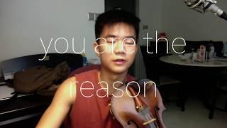 Download Lagu You Are The Reason - Calum Scott (Violin Cover) Mp3