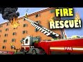 LEGO FIRE RESCUE CHALLENGE with BOB and BOB! - Brick Rigs Multiplayer Gameplay Ep25
