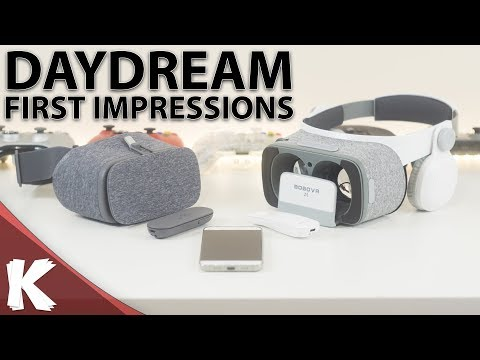 Kommando Finally Tries Google Daydream | First Impressions