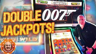 DOUBLE 0 JACKPOTS! 🎰High Limit Bond BONUS WIN$!