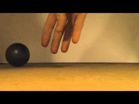 Cheap Camera Trick #1 - Ball Moving By Itself Illusion - Pivoting Camera Surface - Canon HFR 400