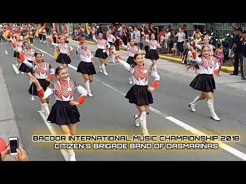 Citizens Brigade Band of Dasmariñas (CBBD)-Bacoor International Music Competition Street Parade 2018