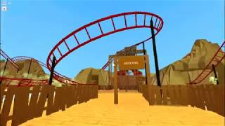 Mustang On-Ride ( Day ) | Roblox Theme Park Tycoon 2