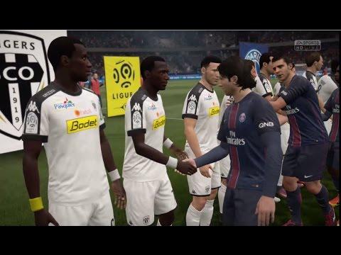 [HD] PSG vs SCO Angers | Ligue 1 | Journée 15 | 30 ...