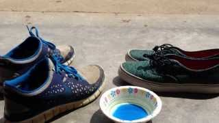 Homemade shoe cleaner (easy tutorial) PART 1