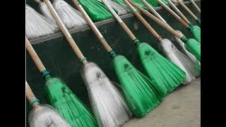 How To Make Plastic Bottle Broom At Home