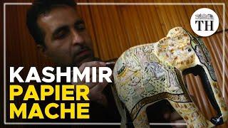 A look at Kashmir's ancient art of papier mache