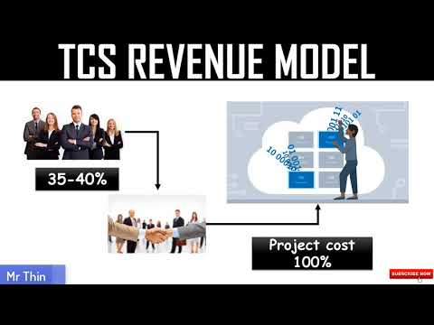 TCS BUSINESS MODEL IN HINDI (Re-upload) | TATA CONSULTANCY SERVICES