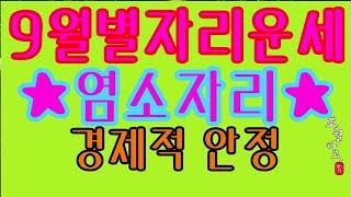[9월별자리] 염소자리 '재물 안정'
