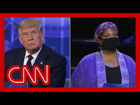 Voter who grilled Trump: I broke down and cried after
