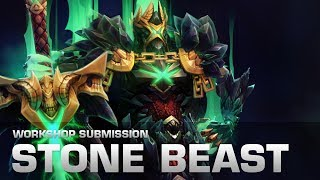 Dota 2 Stone Beast (Wraith King Set - Collector