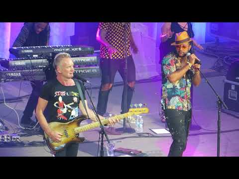 Sting & Shaggy - Message In A Bottle - Live In Plovdiv, Bulgaria - 19.06.18