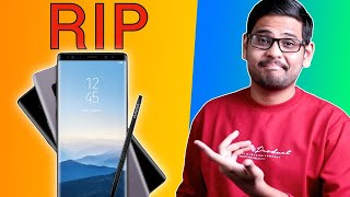 RIP Samsung Galaxy Note! But Why??