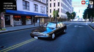 Chevrolet Caprice Wagon GTA IV ENB 2 7K 1440p