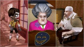 Troll Scenes   Scary Teacher vs Scary Child vs Scary Butcher