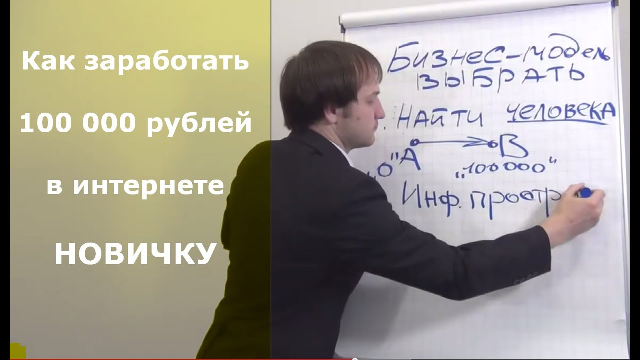 Как заработать в интернете первые 100 000 рублей. Как заработать деньги в интернете