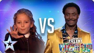 Issy Simpson vs Donchez Dacres | Britain's Got Talent World Cup 2018