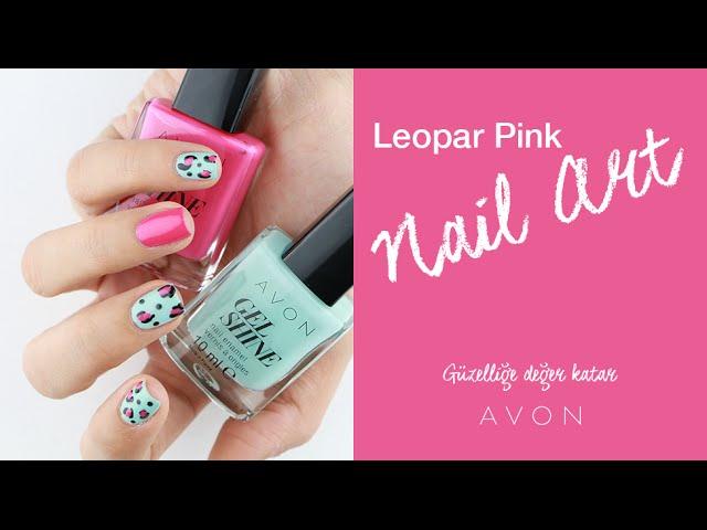 Leopar Pink Nail Art | Ojemrujumrimelim