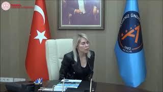 Akdeniz Üniversitesi Rektörü Prof.Dr. Özlenen Özkan