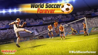 World Soccer Forever: Gameplay trailer - a free Miniclip game