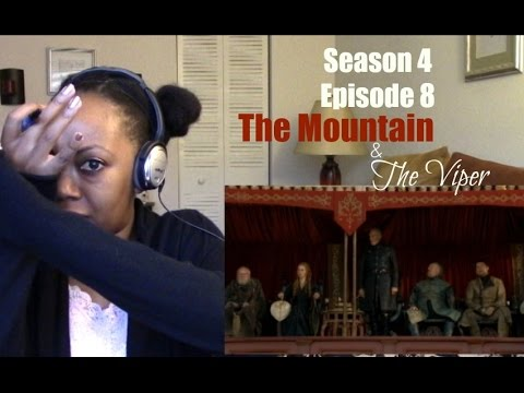 "Game of Thrones S4 E8 ""The Mountain and the Viper"" Reaction"