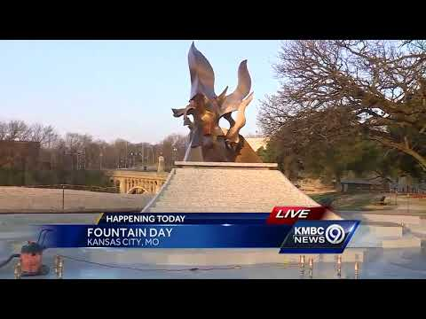 It's Fountain Day in Kansas City
