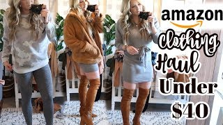 AFFORDABLE AMAZON CLOTHING HAUL | BEST FINDS UNDER $40