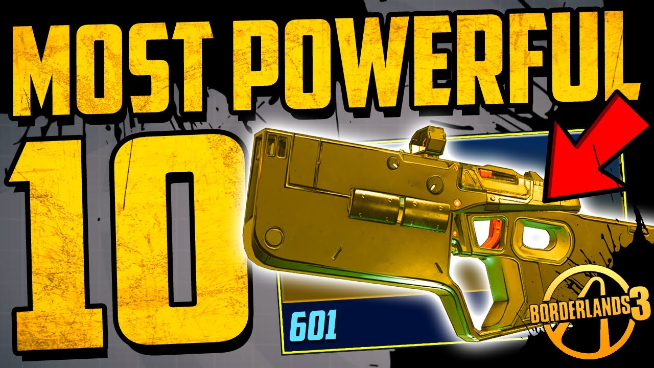 Top 10 BEST & MOST POWERFUL WEAPONS IN BORDERLANDS 3 - (April / May 2020) thumbnail