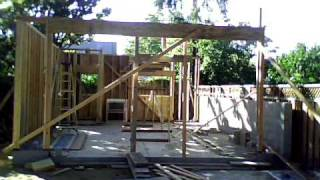 Garage Construction - Timelapse: 6/21/2010 To 7/3/2010